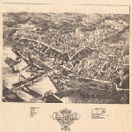 Bird's Eye View of Montague, Muskegon Co., Mich.