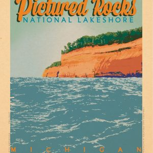 Pictured Rocks National Lakeshore Print No. [073]