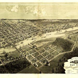 Bay City, Portsmouth, Wenona & Salzburg, 1867