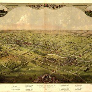 Lansing, 1866