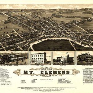 Mt. Clemens, 1881