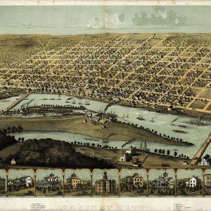 Saginaw, 1867