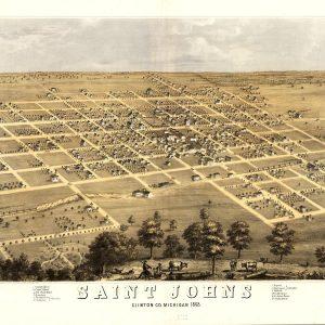 St. Johns, 1868