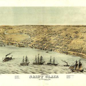 St. Clair, 1868