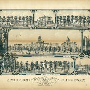 University of Michigan, 1881