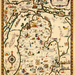 "The ""Commonwealth of Michigan,"" 1935 Print"
