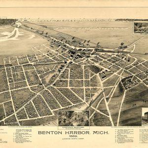 Benton Harbor, 1889