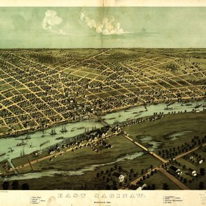 East Saginaw, 1867