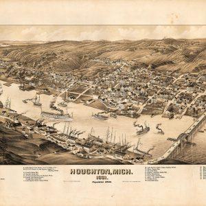 Houghton, 1881