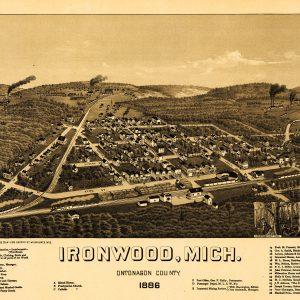 Ironwood, 1886