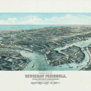 Keweenaw Peninsula, 1913
