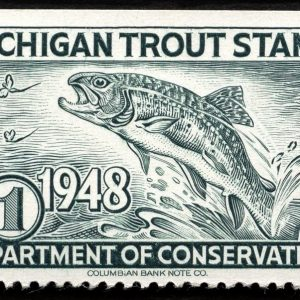 Michigan Trout Stamp, 1948