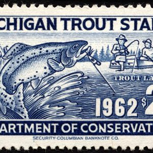 Michigan Trout Stamp, 1962