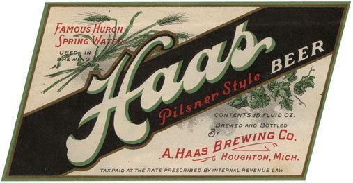 Haas Pilsner Style Beer Label Print