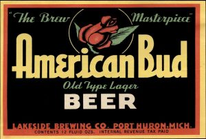 American Bud Beer