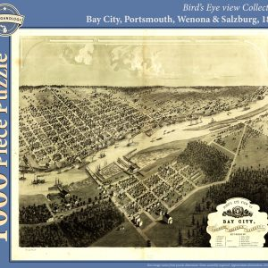 Bay City, Portsmouth, Wenona & Salzburg, 1867 Puzzle
