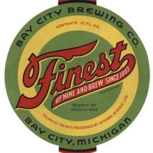 Finest Beer Label Print