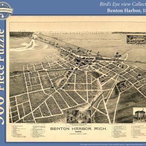 Benton Harbor, 1889 Puzzle