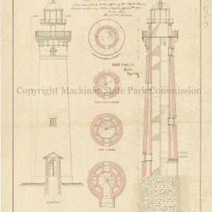 Big Sable Lighthouse, 1873
