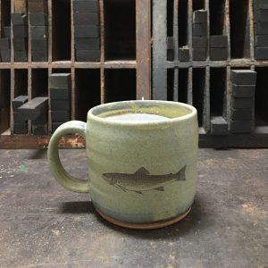 Brook Trout hand-made Mug