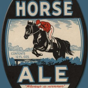 Dark Horse Ale Label Magnet