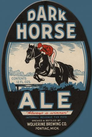 Dark Horse Ale Label Magnet