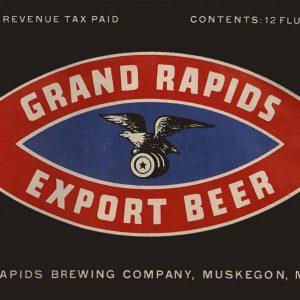 Grand Rapids Export Beer Magnet