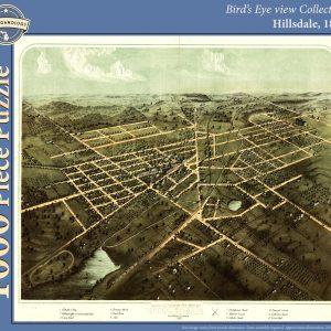 Hillsdale, 1866 Puzzle