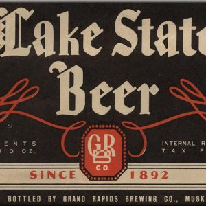 Lake State Beer Magnet
