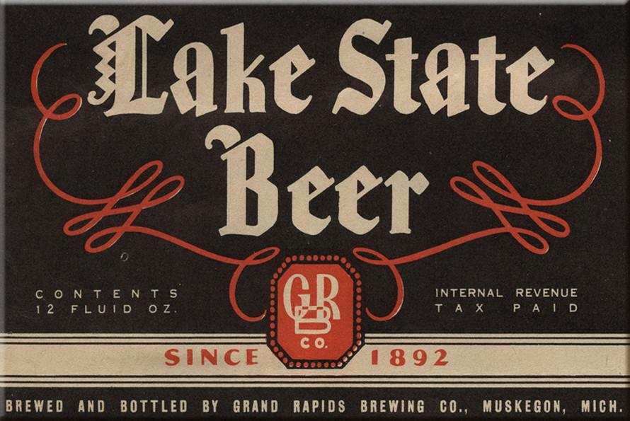 Lake State Beer Magnet