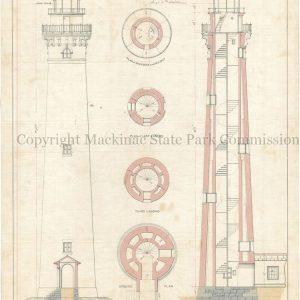 Little Sable Point Lighthouse, 1873