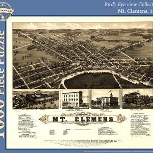 Mt. Clemens, 1881 Puzzle