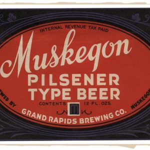 Muskegon Pilsner Type Beer Magnet