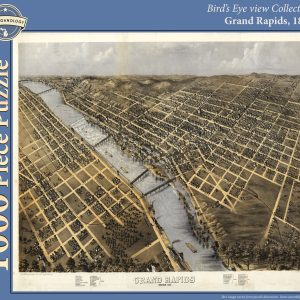 Grand Rapids, 1868 Puzzle
