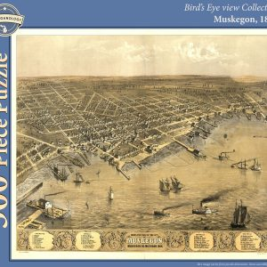 Muskegon, 1868 Puzzle