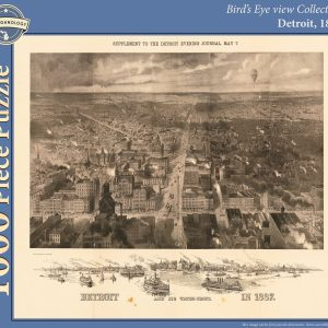 Detroit, 1887 Puzzle