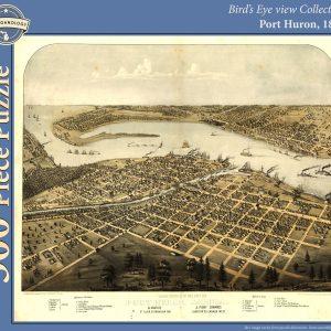 Port Huron, 1867 Puzzle
