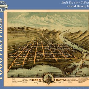 Grand Haven, 1874 Puzzle