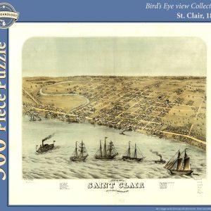 St. Clair, 1868 Puzzle