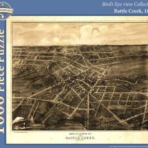 Battle Creek, 1870 Puzzle