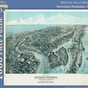 Keweenaw Peninsula, 1913 Puzzle