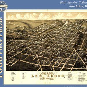 Ann Arbor, 1880 Puzzle