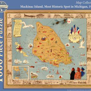 Mackinac Island, Most Historic Spot in Michigan Puzzle
