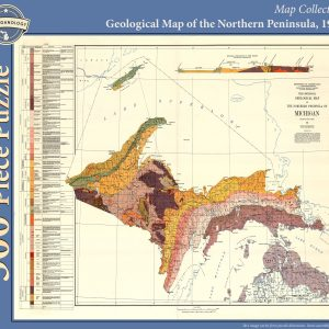 Geological Map of the Northern Peninsula Puzzle