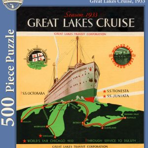 Great Lakes Cruise, 1933 Puzzle