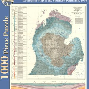 Geological Map of the Southern Peninsula Puzzle