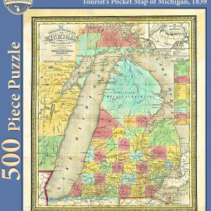 1839 Tourist's Pocket Map Puzzle