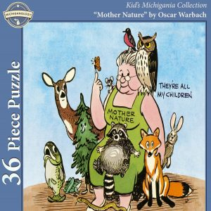 """""""Mother Nature"""" by Oscar Warbach Kid's Puzzle"""
