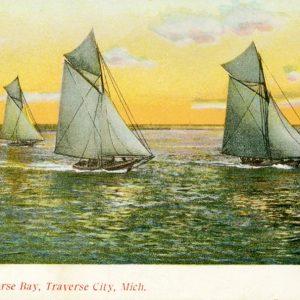 Sailing Grand Traverse Bay