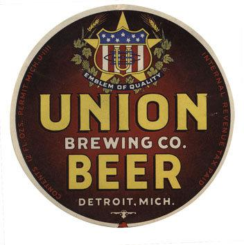 Union Beer Label Print